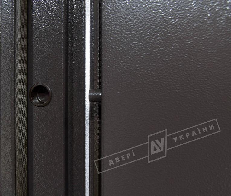 Двери входные САЛЮТ 2 металл/металл 1200 RAL 8019