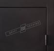 Двері вхідні внутрішні Салют ммдф 2040*870мм, модель Ніка М венге южне МВР1998-10,праві.
