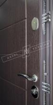 Двери входные БС 3 НИКА М венге южное К.2 KALE