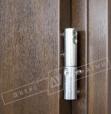 """Двери входные уличные серии """"GRAND HOUSE 73 mm"""" / Модель №2 / цвет: Тёмный орехДвери входные уличные серии """"GRAND HOUSE 73 mm"""" / Модель №1 / цвет: Тёмный орех / Защитная ручка на планке"""