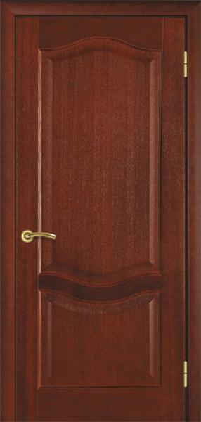 """УЦІНЕНЕ Полотно дверне""""Термінус""""модель 07 ,р.2000*600,глухе,шпонноване,колір каштан."""