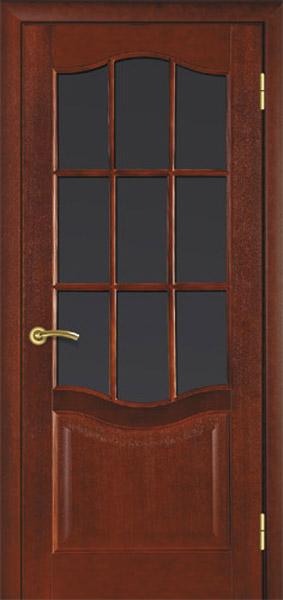 УЦІНЕНЕ Полотно двернеТермінусмодель 07 ,р.2000*800,під скло,шпонноване,колір каштан.