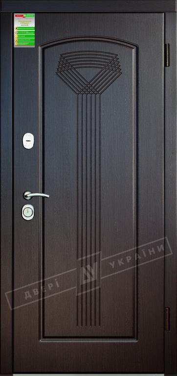 Двері вхідні внутрішніБілоруський стандарт 212040*880мм,Салют венге южне МВР1998-10,праві