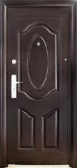"""Двери входные ТМ """"Сезон Плюс"""" [ 121 + ] / МОЛОТКОВОЕ ПОКРЫТИЕ / для НАРУЖНОГО ПРИМЕНЕНИЯ / 2050*860-960 мм / утеплённые МИНЕРАЛЬНОЙ ВАТОЙ"""