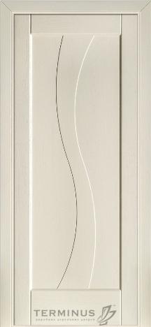 """УЦІНЕНЕ  Полотно дверне""""Термінус""""модель 15,р.2000*600,глухе,шпон білений дуб."""