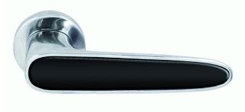 """Ручка дверная """"RDA"""", модель Idea, хром/черный"""