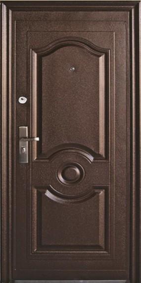 """Двері вхідні зовнішні""""Двері оптом 50мм"""",мод.ТР-С05+З УТЕПЛЮВАЧЕМ,2050*860,праві,колір мідний антік."""