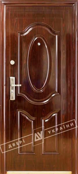 """Двері вхідні внутрішні ТМ""""Двері оптом""""(ТР-С21)2050*860мм,праві."""