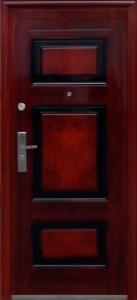 """Двери входные ТМ """"Двери Оптом"""" [ TP-C 29 ] / ЛАК / для ВНУТРЕННЕГО ПРИМЕНЕНИЯ / 2050*860 мм / утеплённые СОТАМИ из гофрокартона"""