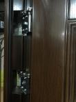 """Двери входные ТМ """"Сезон Плюс"""" [ 307 + AB ] / структурированное ТРАВЛЕНИЕ / для ВНУТРЕННЕГО ПРИМЕНЕНИЯ / 2050*860-960 мм / утеплённые МИНЕРАЛЬНОЙ ВАТОЙ"""