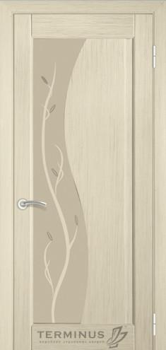 """УЦІНЕНЕ  Полотно дверне""""Термінус""""модель 16,р.2000*700,із склом,шпон білений дуб."""