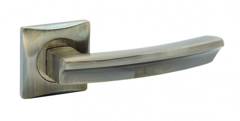 "Ручка дверная ""S.A.P.Design"" 527  Сuadro [бронза]"