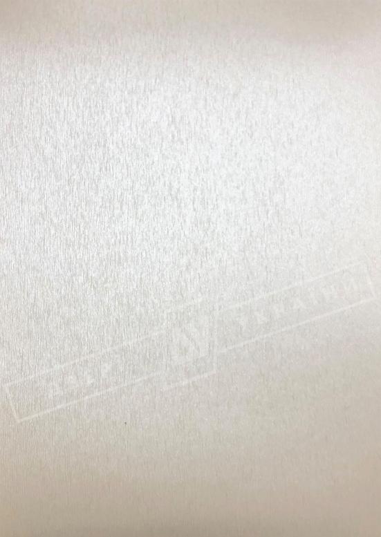 Белый шёлк металлик BRUSHED PEARL