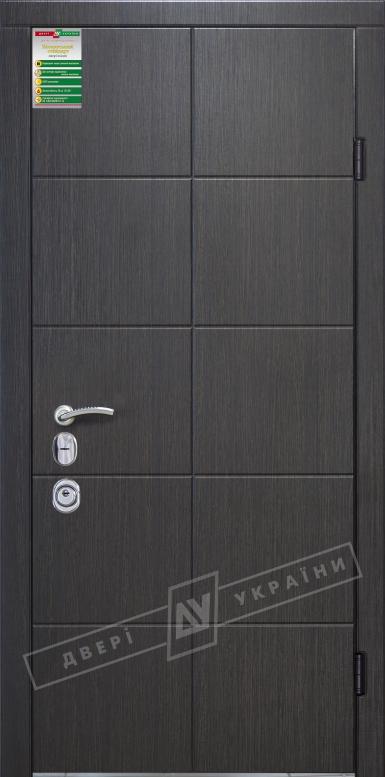 Двери входные серии БС / Комплектация №4 [MOTTURA] / КЕЙС / Венге