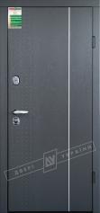 Двери входные серии БС / Комплектация №1 [RICCARDI] / ЛЕОН 1 / Серая текстура супермат GREY-J3