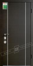 Двери входные серии БС / Комплектация №4 [MOTTURA] / МИЛАН / Венге горизонт тёмное HORI-DARK