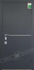 Двери входные серии БС / Комплектация №4 [MOTTURA] / МОНАКО / Антрацит ANT01-105C