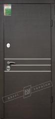 Двери входные серии БС / Комплектация №1 [RICCARDI] / ОСАКА / Венге горизонт тёмное HORI-DARK
