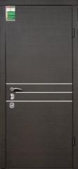 Двери входные серии БС / Комплектация №4 [MOTTURA] / ОСАКА / Венге горизонт тёмное HORI-DARK