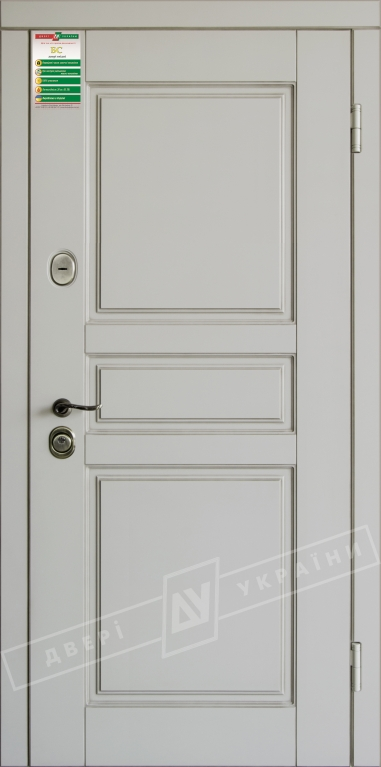 Двери входные серии БС / Комплектация №1 [RICCARDI] / ПРОВАНС 7 / Макиато супермат MAKIATO-02 + ПАТИНА