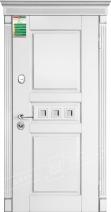 Двери входные серии БС / Комплектация №1 [RICCARDI] / ПРОВАНС 7 Кристал / Белый супермат WHITE_02