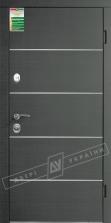 Двери входные серии БС / Комплектация №1 [RICCARDI] / ТУРИН Декор / Венге серый горизонт 288