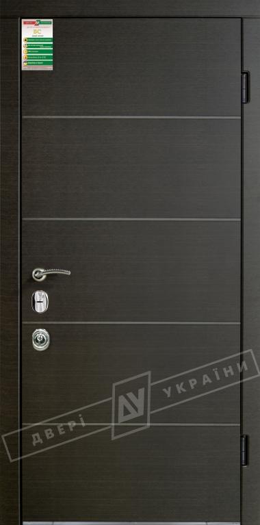 Двери входные серии БС / Комплектация №4 [MOTTURA] / ТУРИН / Венге горизонт тёмное HORI-DARK