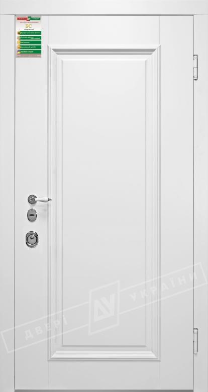 Двери входные серии БС 3 / Комплектация №1 [RICCARDI] / ВЕРСАЛЬ 1 / Белый супермат WHITE_02