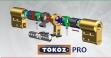"""Цилиндр """"TOKOZ"""" PRO 300 75mm (45*30T) [ ключ / тумблер ]"""