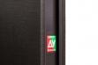 """Двері вхідні внутрішні """"Сіті 1/1"""" 2050*860мм, модель """"Куб"""" венге горизонт темне.Терм"""