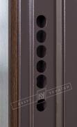 Двері вхідні внутрішніБілоруський стандарт 212040*880мм,Аккорд венге горизонт темне.Терм,праві