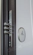 Двері вхідні внутрішніБілоруський стандарт 212040*880мм,Лиана Біла шагрень 114-S3P.Пол..,праві