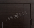 Двери входные серии СИТИ / Комплектация №1 [RICCARDI] / КУБ / Венге горизонт тёмное HORI-DARK
