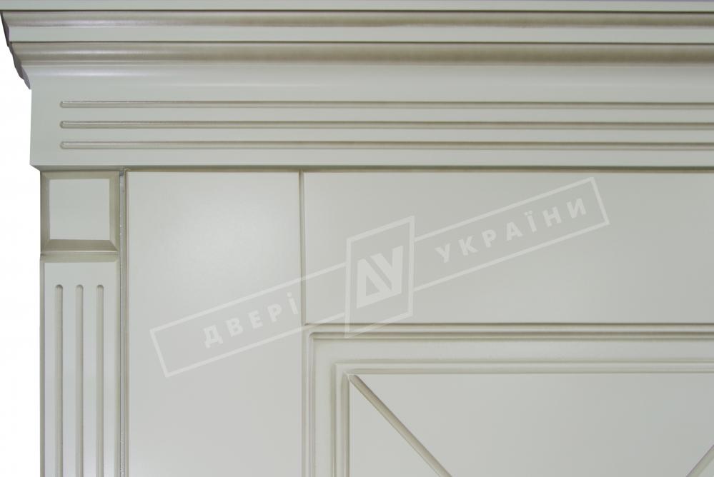 Двери входные серии БС / Комплектация №1 [KALE] / ПРОВАНС 6 Декор / Макиато супермат MAKIATO-02 + ПАТИНА
