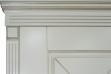 Двери входные серии ИНТЕР / Комплектация №1 [KALE] / ПРОВАНС Декор 5 / Макиато супермат MAKIATO-02