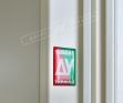 """Двері вхід.внут""""Білоруський станд2/2""""2040*880мм,""""Прованс 6 Декор"""" макіато супермат 02 Тер+П,праві"""