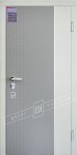 Двери входные серии ИНТЕР 5 / Комплектация №3 [MOTTURA] / модель ЛЕОН 2 / Тёмный хаки софттач HRB6303UD B10-0,35 / Какао текстура супермат САСАО-J3 / Белый супермат WHITE_02 / Белая текстура супермат WHITE-J3