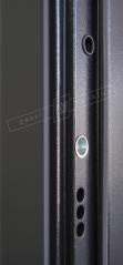 Двери входные серии ИНТЕР / Комплектация №1 [KALE] / ЭЛИС зеркало / Чёрный софттач RB5013UD-B10-0,35