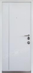 Двери входные серии ИНТЕР / Комплектация №3 [MOTTURA] / модель ЛЕОН 2 / Тёмный хаки софттач HRB6303UD B10-0,35 / Какао текстура супермат САСАО-J3 / Белый супермат WHITE_02 / Белая текстура супермат WHITE-J3