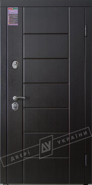Двери входные серии ИНТЕР / Комплектация №1 [KALE] / НИКА М / Венге южное МВР 1998-10