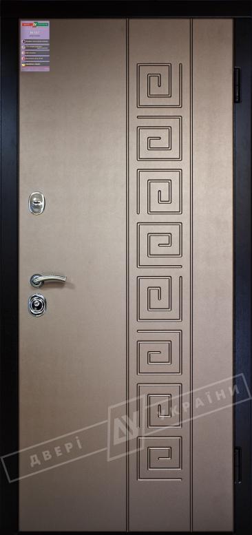 Двери входные серии ИНТЕР / Комплектация №1 [KALE] / ПАССАЖ / Бронза