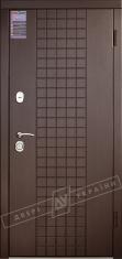 Двери входные серии ИНТЕР / Комплектация №1 [KALE] / ШОКОЛАД / Венге южное МВР 1998-10
