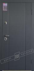 Двери входные серии ИНТЕР / Комплектация №1 [KALE] / СТЕЛЛА / Антрацит ANT01-105C