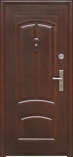 """Двери входные ТМ """"Двери Оптом"""" / [ TP-C 12 ] / АВТОЛАК ПОКРЫТИЕ / для НАРУЖНОГО ПРИМЕНЕНИЯ / 2050*860 мм / утеплённые СОТАМИ"""