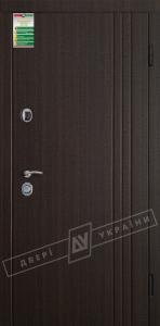 Двери входные БС 3 КАЛЕ Флеш 3 / Трояна венге тёмный распил