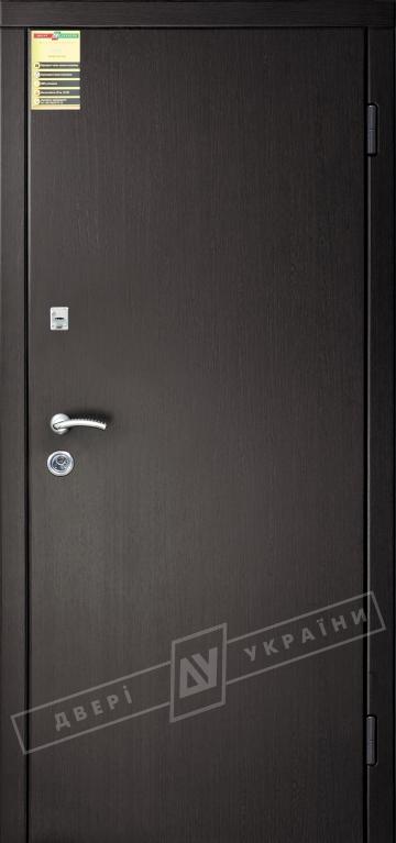 """Двері вхідні внутрішні """"Сіті 1/1"""" 2050*860мм, модель """"Флеш"""" венге южне МВР1998-10, праві."""