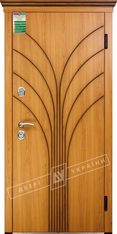 Двері вхідні внутрішніБілоруський стандарт212040*880мм,Флора Вишня сакура світла МВР 207,праві