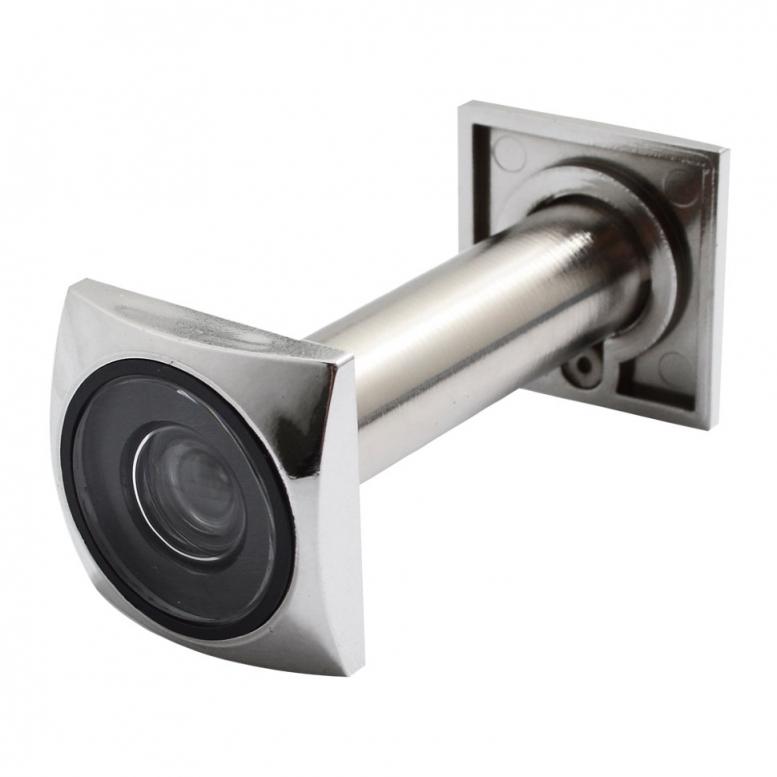 """Глазок """"SECUREMME"""" квадратный CP (60-110 / 16 мм) [хром]"""
