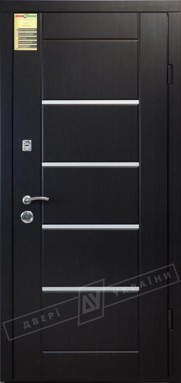 Двери входные серии СИТИ / Комплектация №1 [RICCARDI] / АККОРД / Венге южное МВР 1998-10