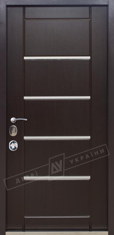 Двери входные серии ИНТЕР / Комплектация №3 [MOTTURA] / АККОРД / Венге южное МВР 1998-10